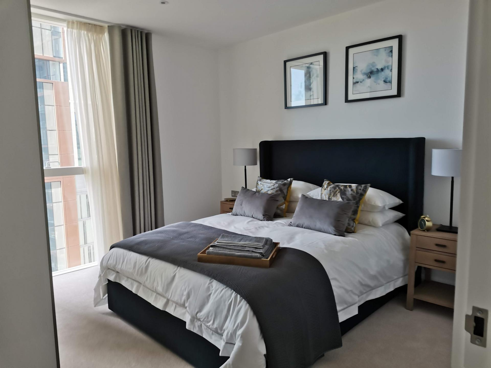 Bedroom at Charles Hope Canary Wharf, Canary Wharf, London