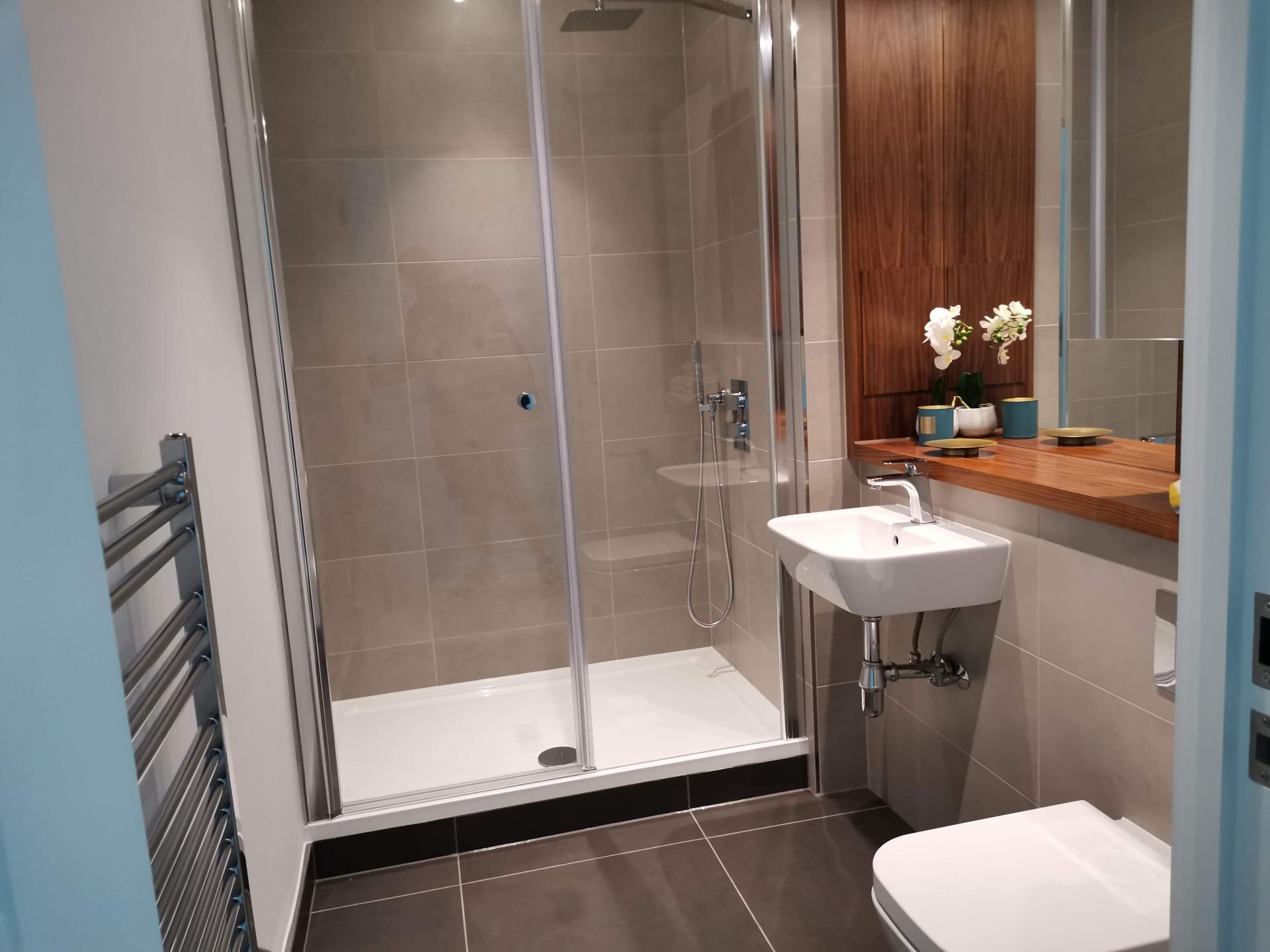 Bathroom at Charles Hope Canary Wharf, Canary Wharf, London