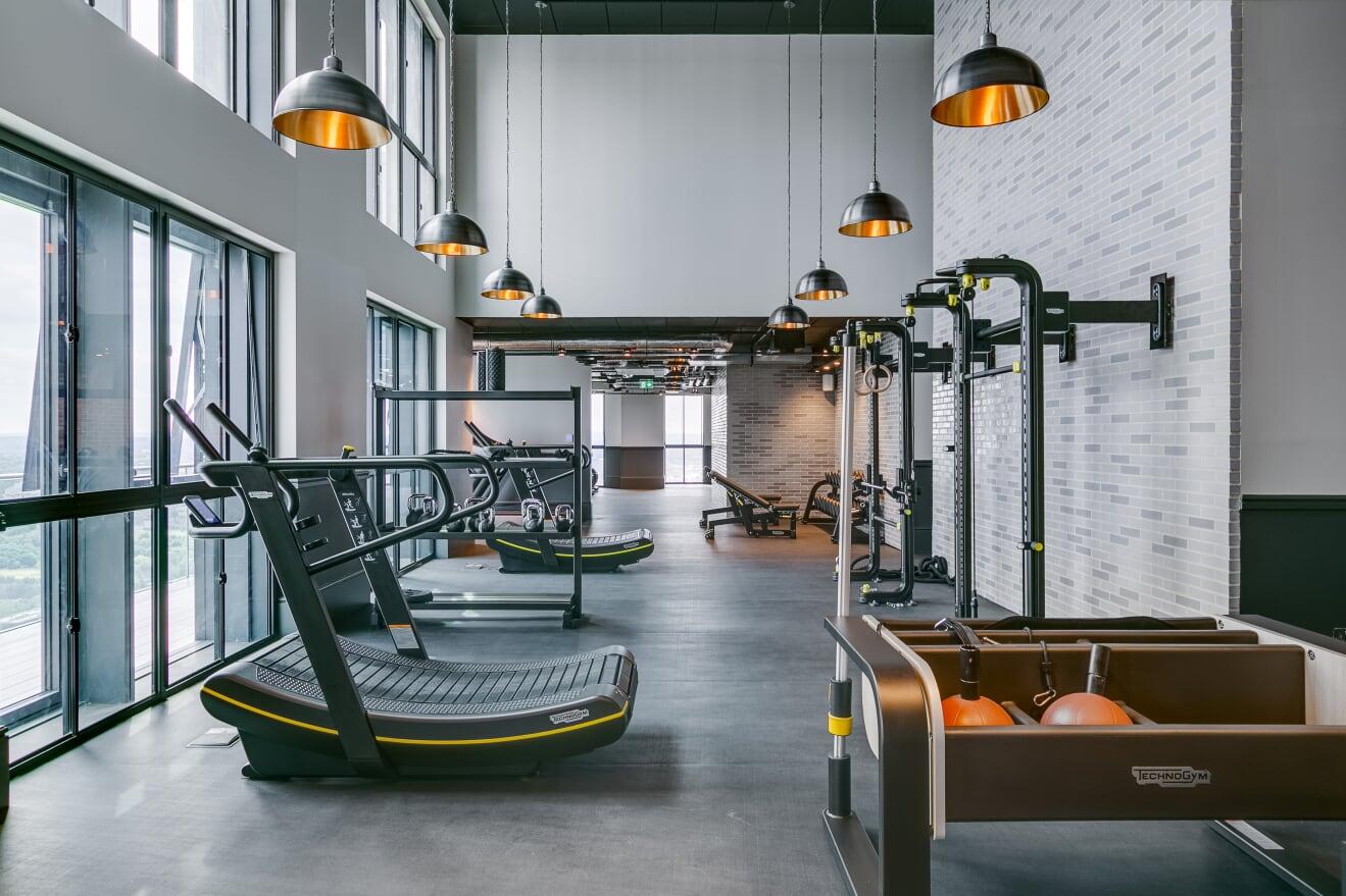 Gym at Charles Hope Canary Wharf, Canary Wharf, London