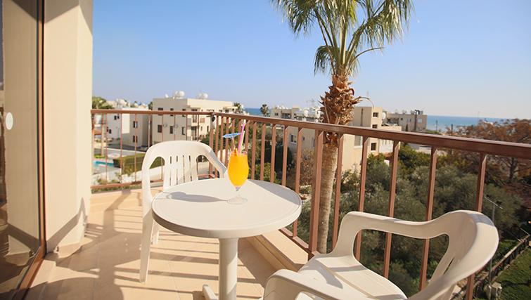 Balcony at Lucky Hotel Apartments