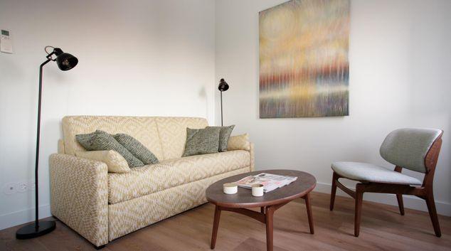 Living area at Casa Saint Jorge Apartments, Alfama, Lisbon