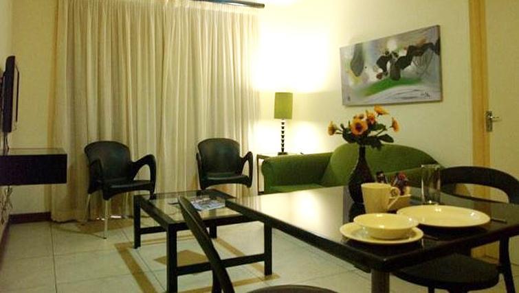 Living area at Premiere Classe Suite Apartments