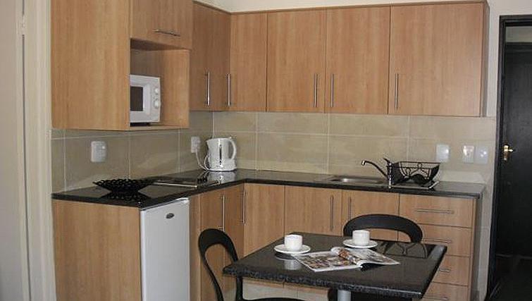 Spacious kitchen in Premiere Classe Suite Apartments