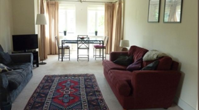 Lounge at Lime Court Apartment, Centre, Leatherhead
