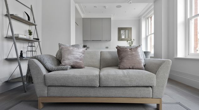 Sofa at Museum House Apartments, Covent Garden, London