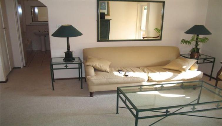 Spacious living area in Villa Via Apartments