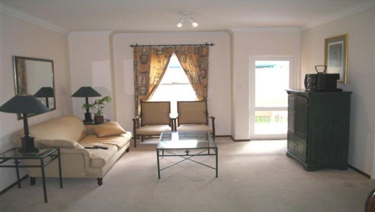 Bright living area at Villa Via Apartments