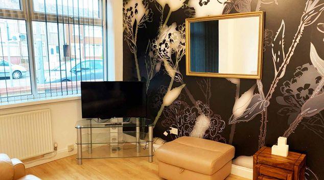 Living area at Great Sankey House, Centre, Warrington