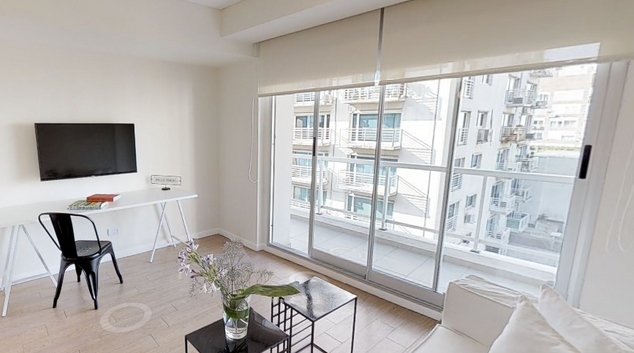 Living area at Cabello Apartments, Palermo, Buenos Aires