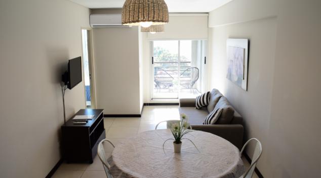 Living area at Gloria Building Apartments, Rosario, Buenos Aires