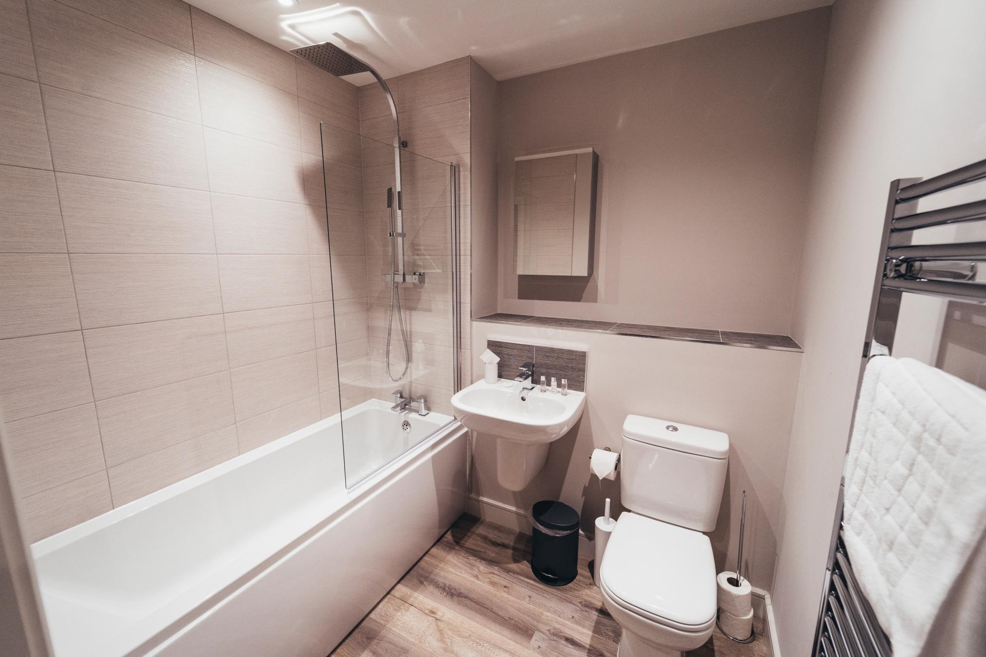 Bathroom at Devonshire Court Apartments, West Bridgford, Nottingham