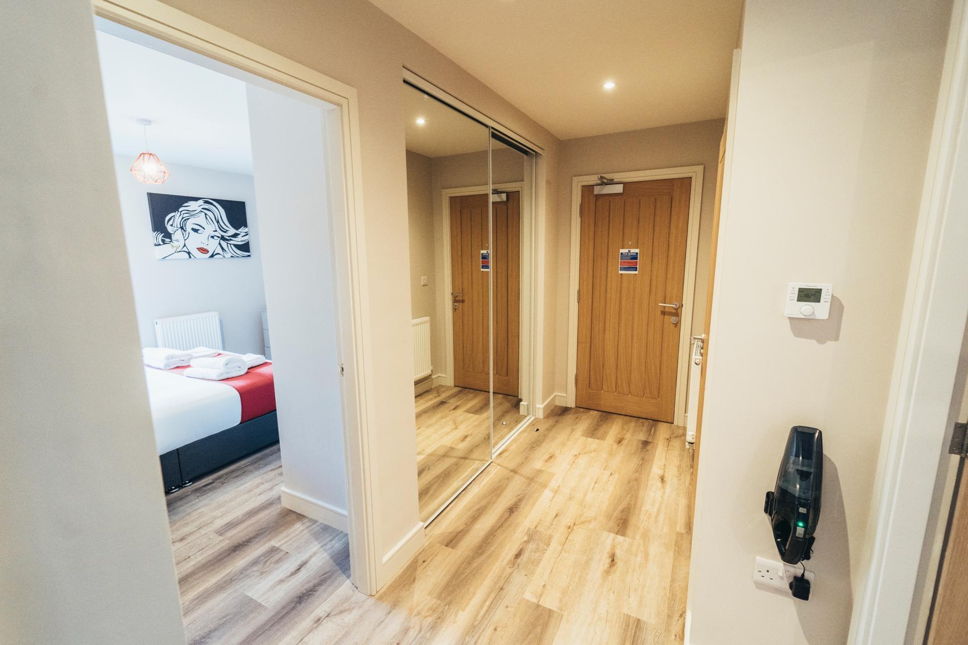 Hallway at Devonshire Court Apartments, West Bridgford, Nottingham