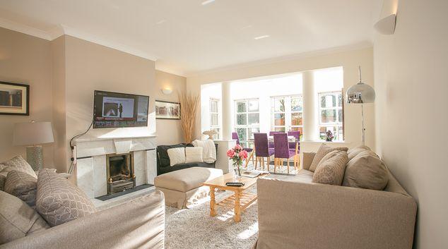 Living area at Harcourt Terrace, Portobello, Dublin