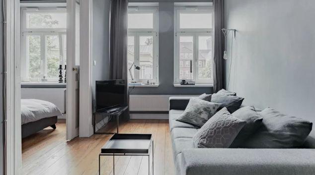 Living area at Zeughausmarket Apartment, Altona, Hamburg