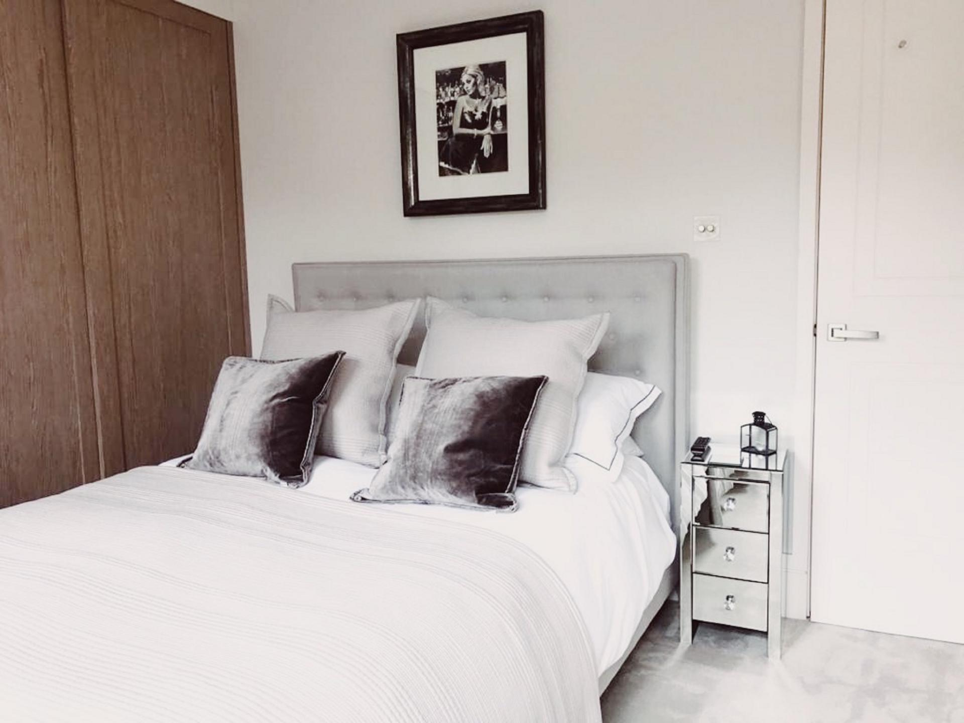 Bedroom at Old Chelsea Apartment, Chelsea, London