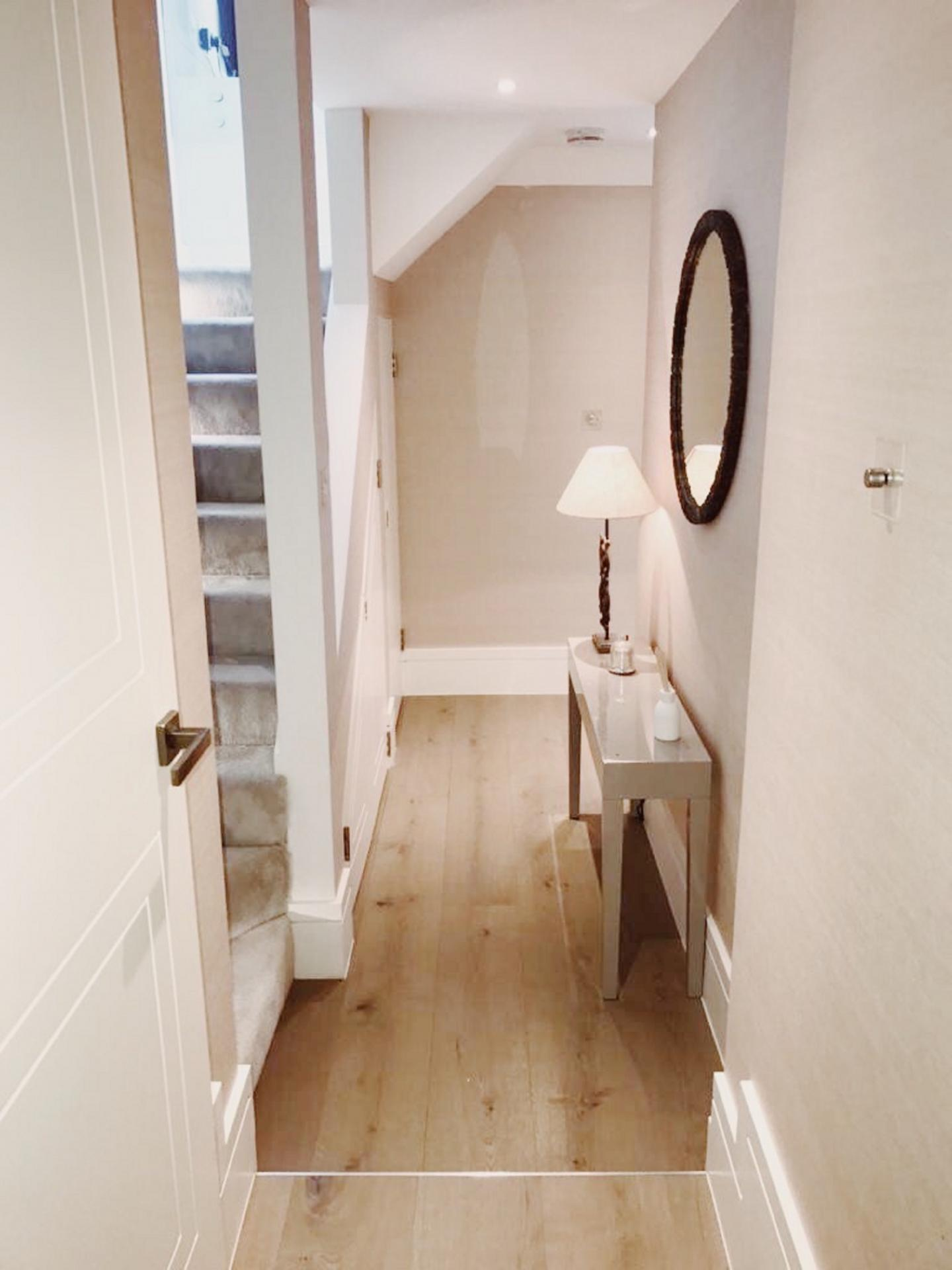 Hallway at Old Chelsea Apartment, Chelsea, London