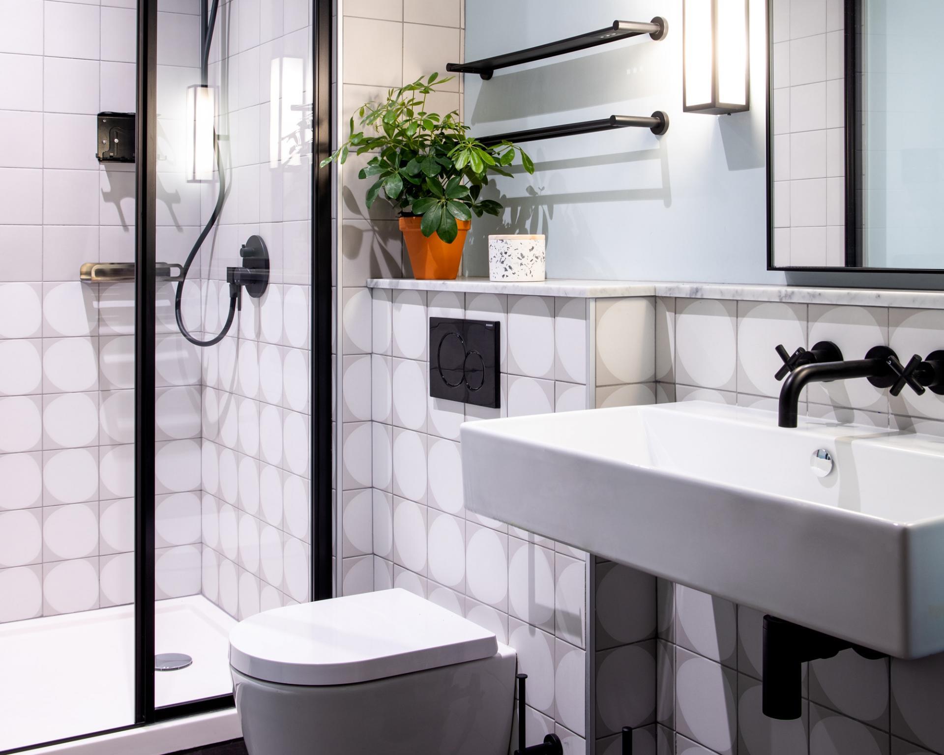 Bathroom at Zanzibar Locke Apartments, Centre, Dublin
