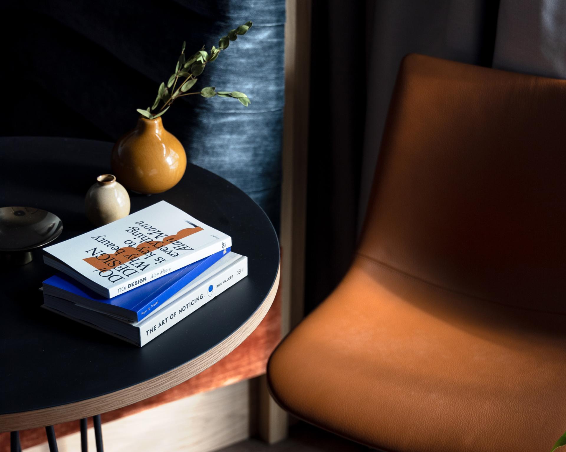 Chair at Beckett Locke Apartments, North Wall, Dublin