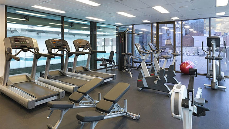 Fitness centre at Mantra on Russell