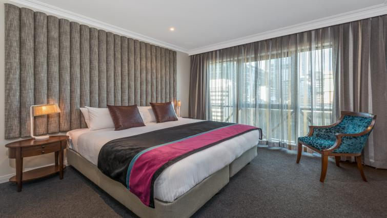 Bedroom in 2 bed at Mantra on Russell