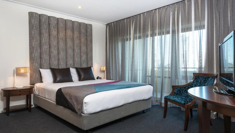 Bedroom at Mantra on Russell