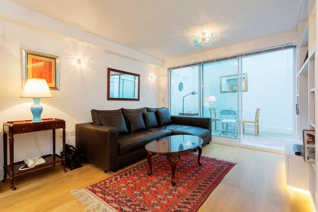 Living area at Market Mews Apartment, Mayfair, London