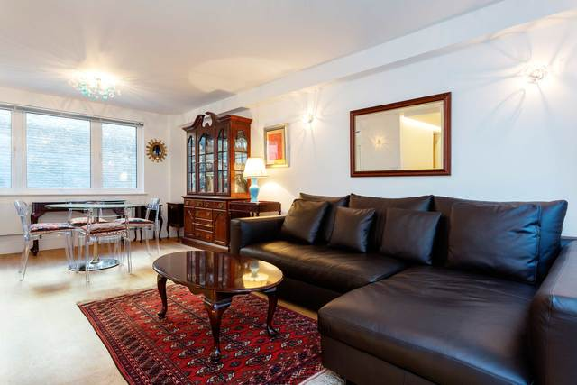 Sofa at Market Mews Apartment, Mayfair, London