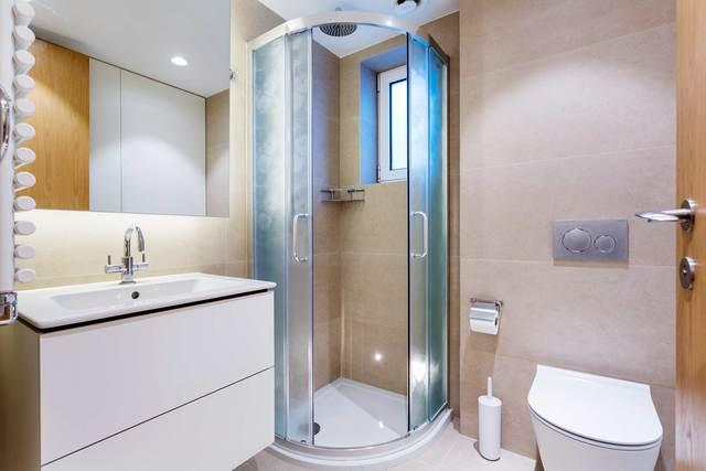 Bathroom at Market Mews Apartment, Mayfair, London