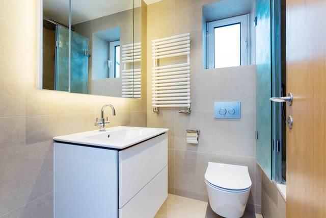 Toilet at Market Mews Apartment, Mayfair, London