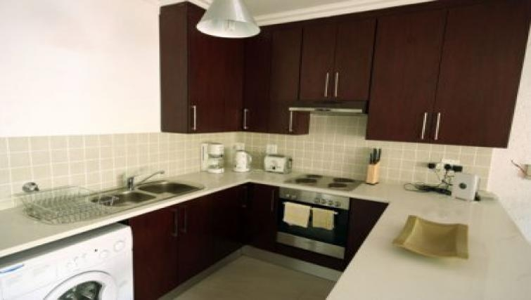 Classic kitchen in Antibes Apartments