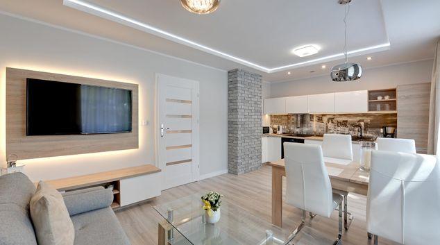 Living area at Grobla IV Apartment, Centre, Gdansk