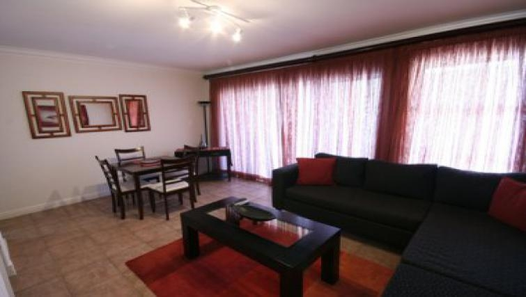 Spacious living area in Northernacres Apartments