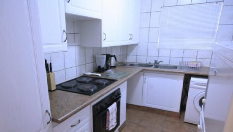 Equipped kitchen in Northernacres Apartments