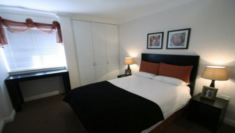 Relaxing bedroom in Northernacres Apartments