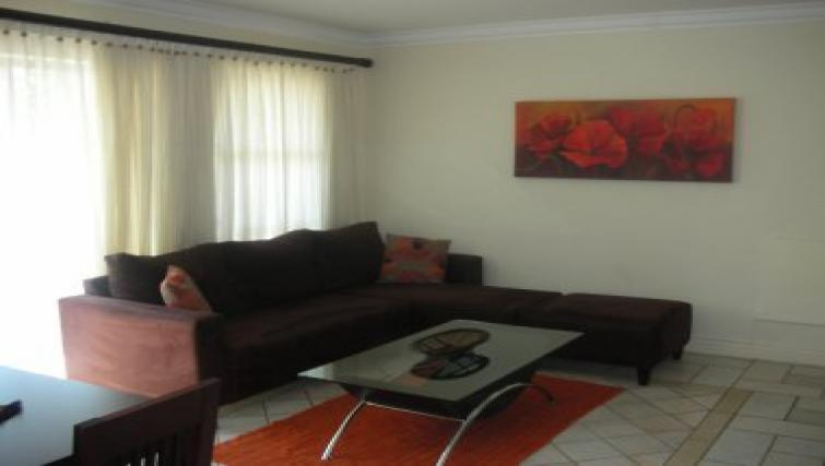 Comfortable living area in Northernacres Apartments