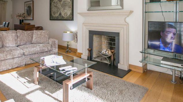Living area at Embassy Mews House, Ballsbridge, Dublin