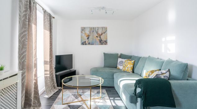 Living area at Abbey Wood Apartment, Abbey Wood, London