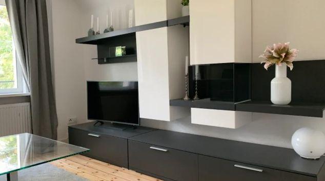 Living area at Albrecht-Duerer Apartment, Blankenfelde-Mahlow, Berlin