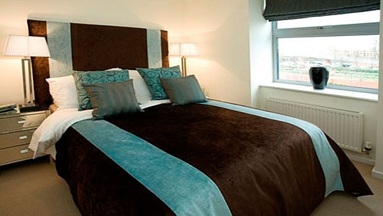 Superb bedroom in Chelmsford Serviced Apartments