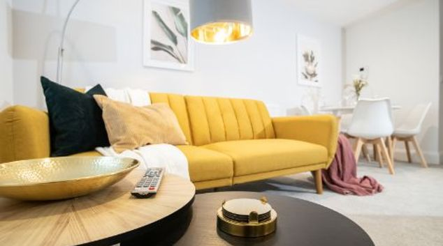 Living area at Waterview Boutique Apartments, Centre, Torquay