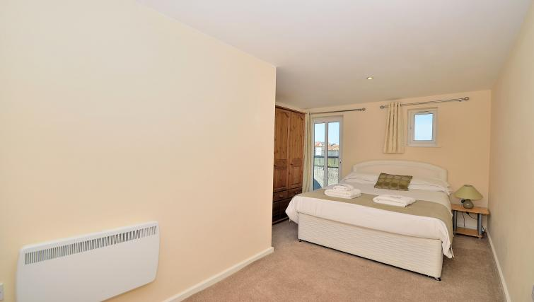 Living area at Chester Racecourse Apartments