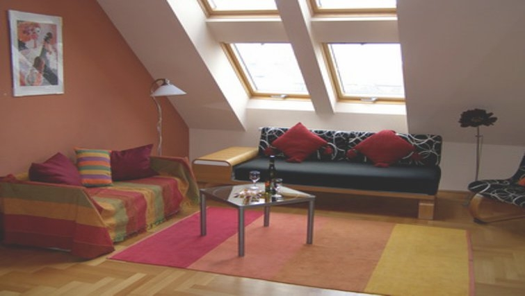 Cosy living area in InnerCity Apartments