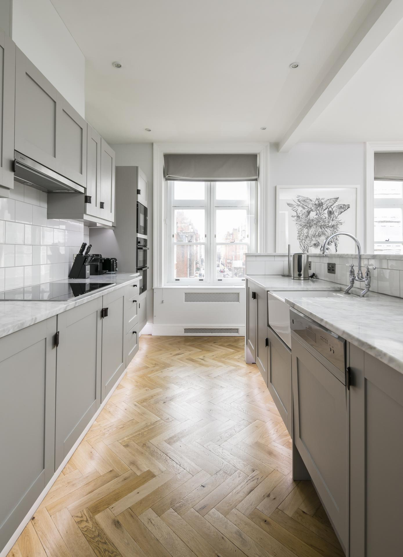 Kitchen at Luxurious Mayfair Apartments, Mayfair, London