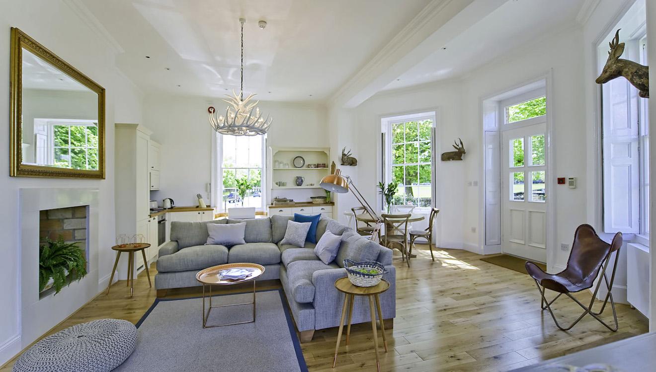 Sofa at Craven House Apartments
