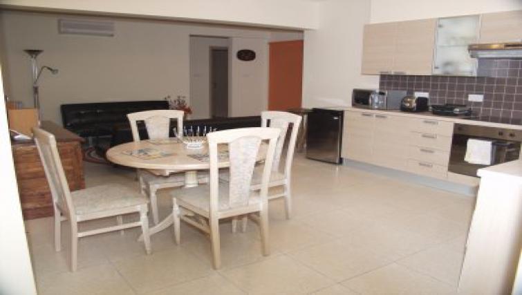 Elegant dining area in Pyla Village Apartment
