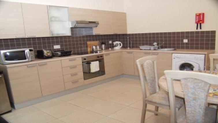 Equipped kitchen in Pyla Village Apartment