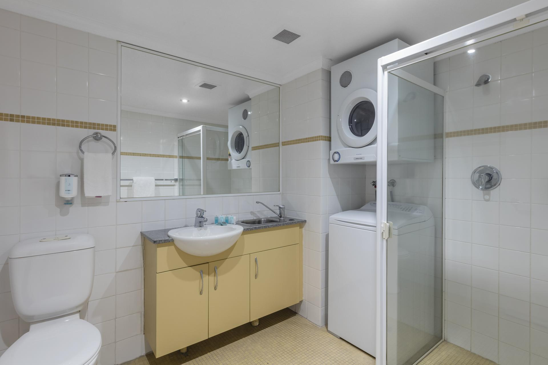 Laundry room at Nesuto Chippendale Apartment Hotel, Chippendale, Sydney