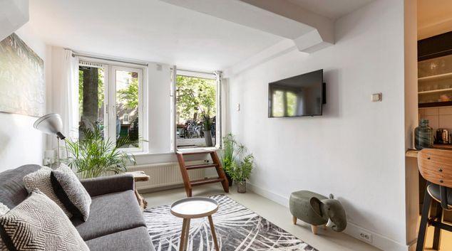 Lounge at Nieuwe Prinsengracht Apartment, Centre, Amsterdam