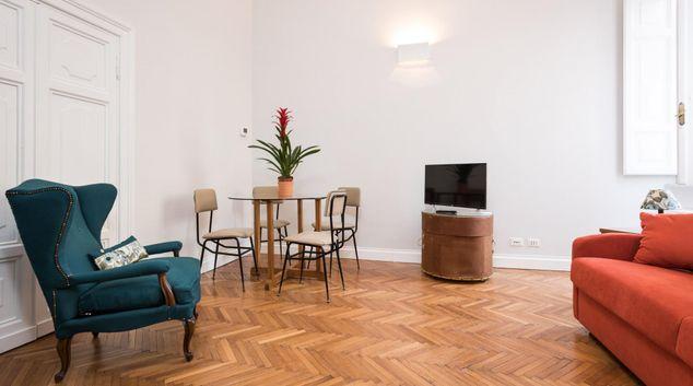 Living room at Elegant Caesonia, Municipio I, Rome