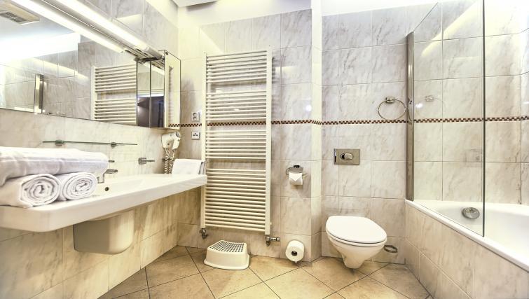 Bath at Residence Brehova Apartments